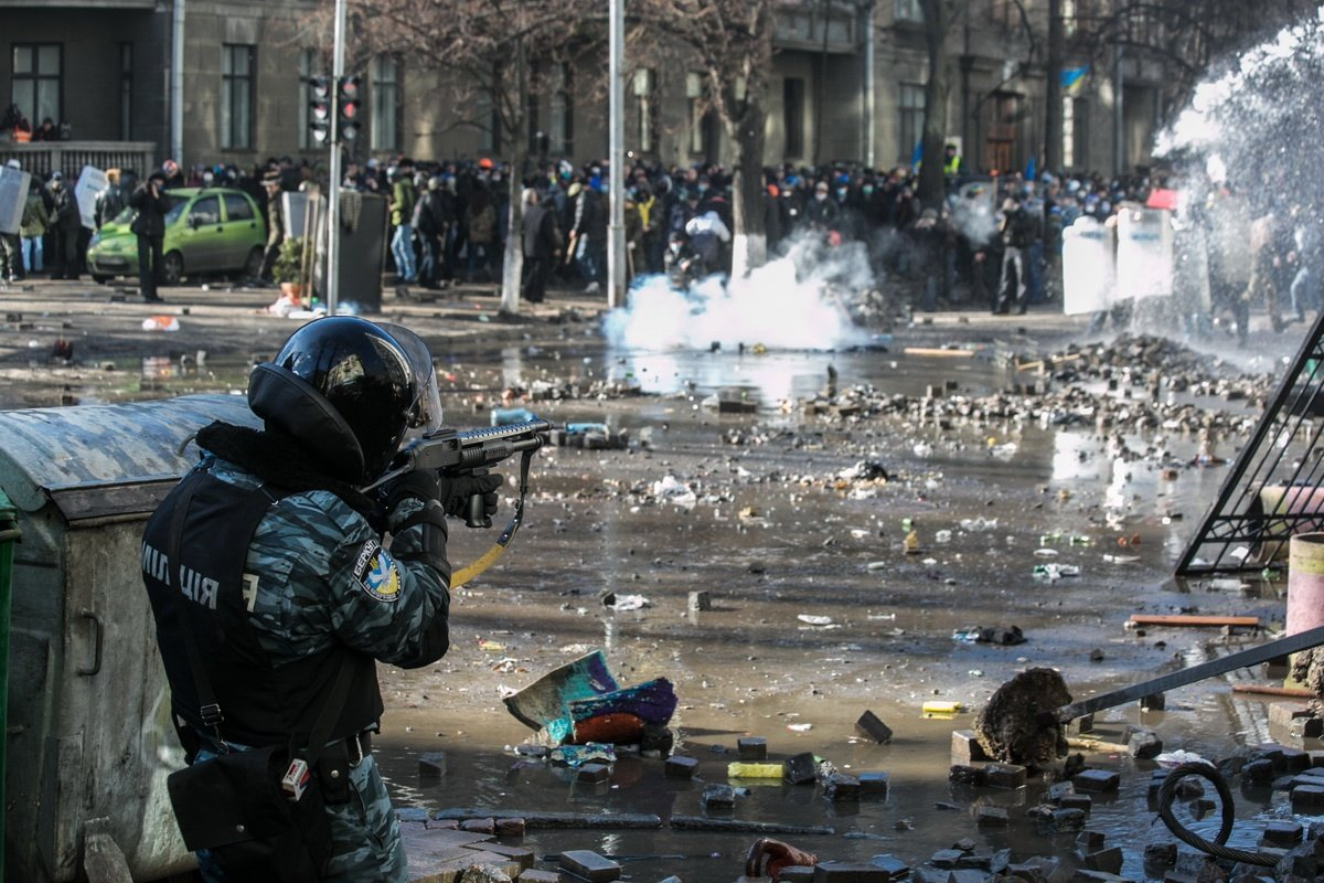 Майдан, Киев, 2014