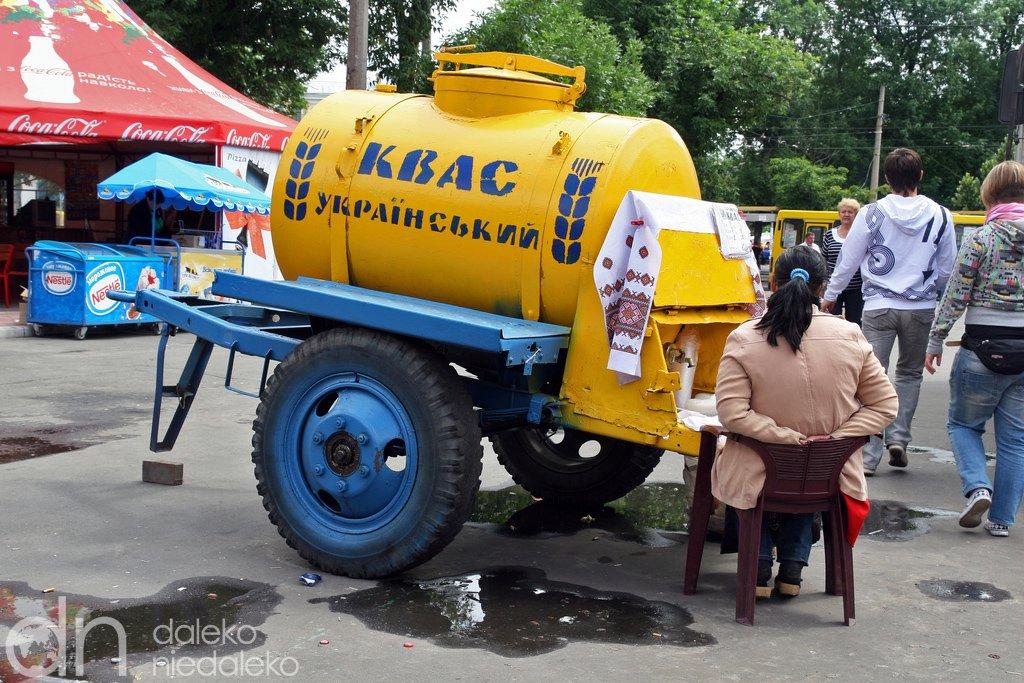 Желтые бочки и запреты: как в Киеве пили квас в разное время, - ФОТО, Фото: daleko niedaleko