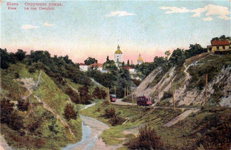 Киевская Швейцария: история живописного трамвайного маршрута, - ФОТО, Фото: Клуб коренного киевлянина