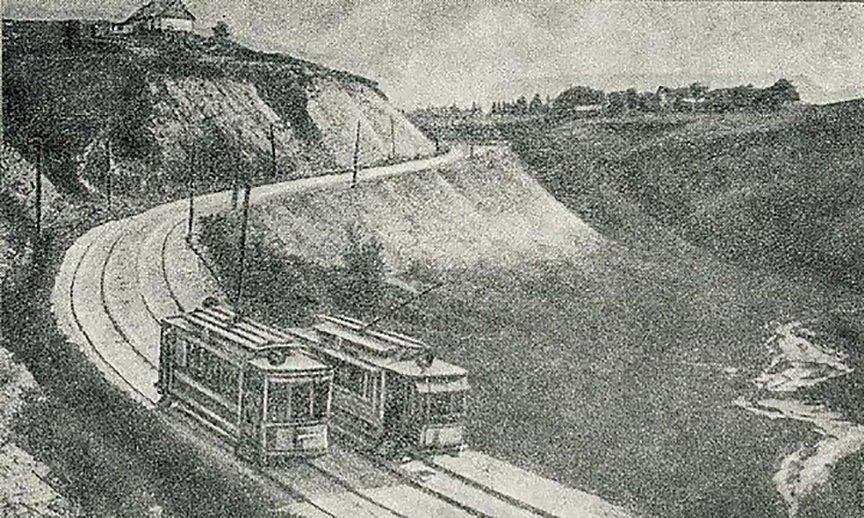 Киевская Швейцария: история живописного трамвайного маршрута, - ФОТО, Фото: pinterest