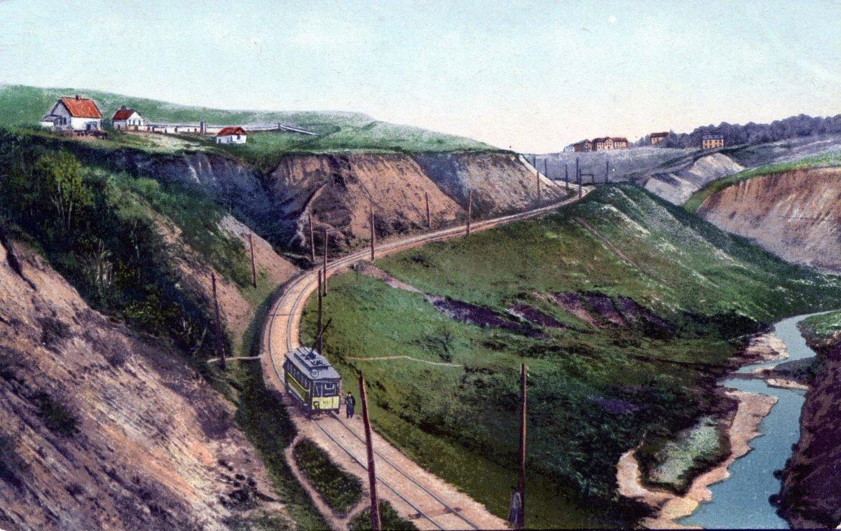 Киевская Швейцария: история живописного трамвайного маршрута, - ФОТО, Фото: заметкин