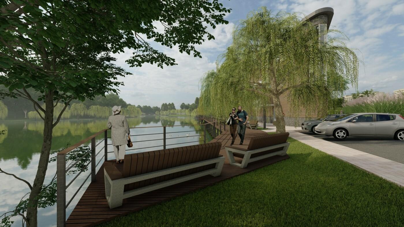 Голосеевский парк, проект, Фото: Киевзеленстрой