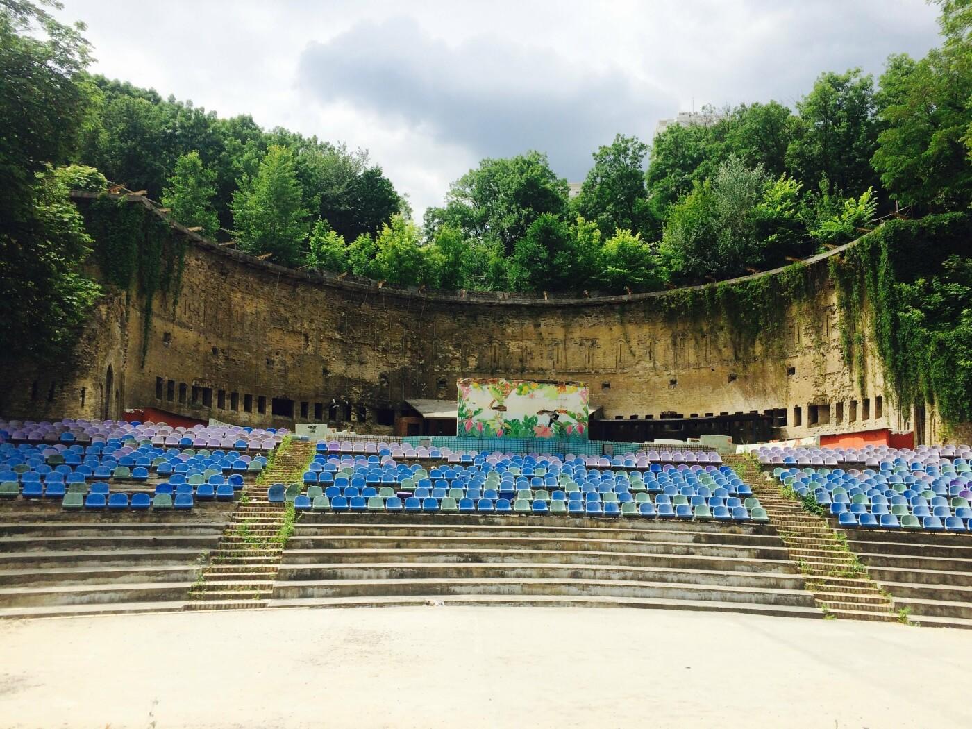 Зеленый театр в Киеве: строительство, запустение и мистические легенды вокруг него, - ФОТО, Фото: Анастасия Маринич