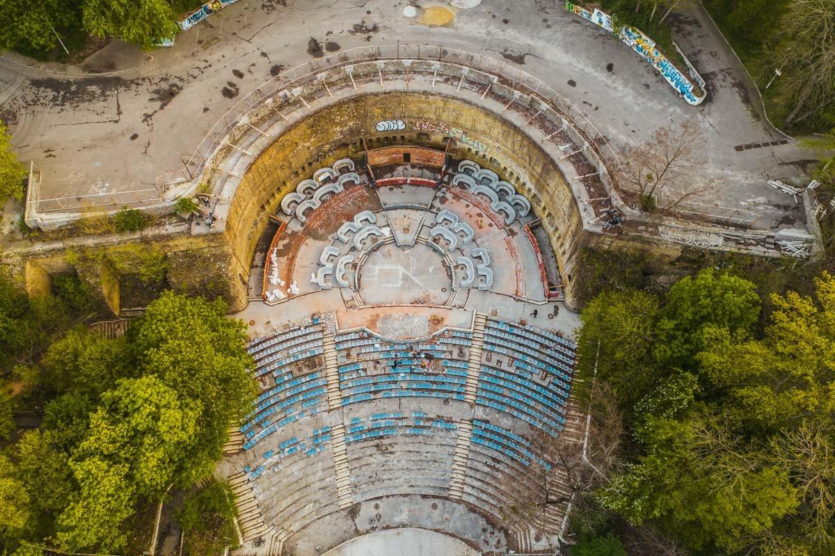 Зеленый театр в Киеве: строительство, запустение и мистические легенды вокруг него, - ФОТО, Фото: Информатор