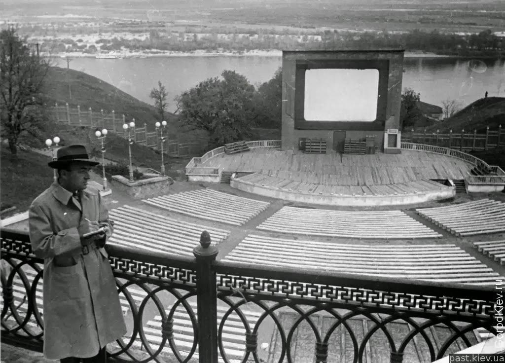 Зеленый театр в Киеве: строительство, запустение и мистические легенды вокруг него, - ФОТО, Фото: Retroua