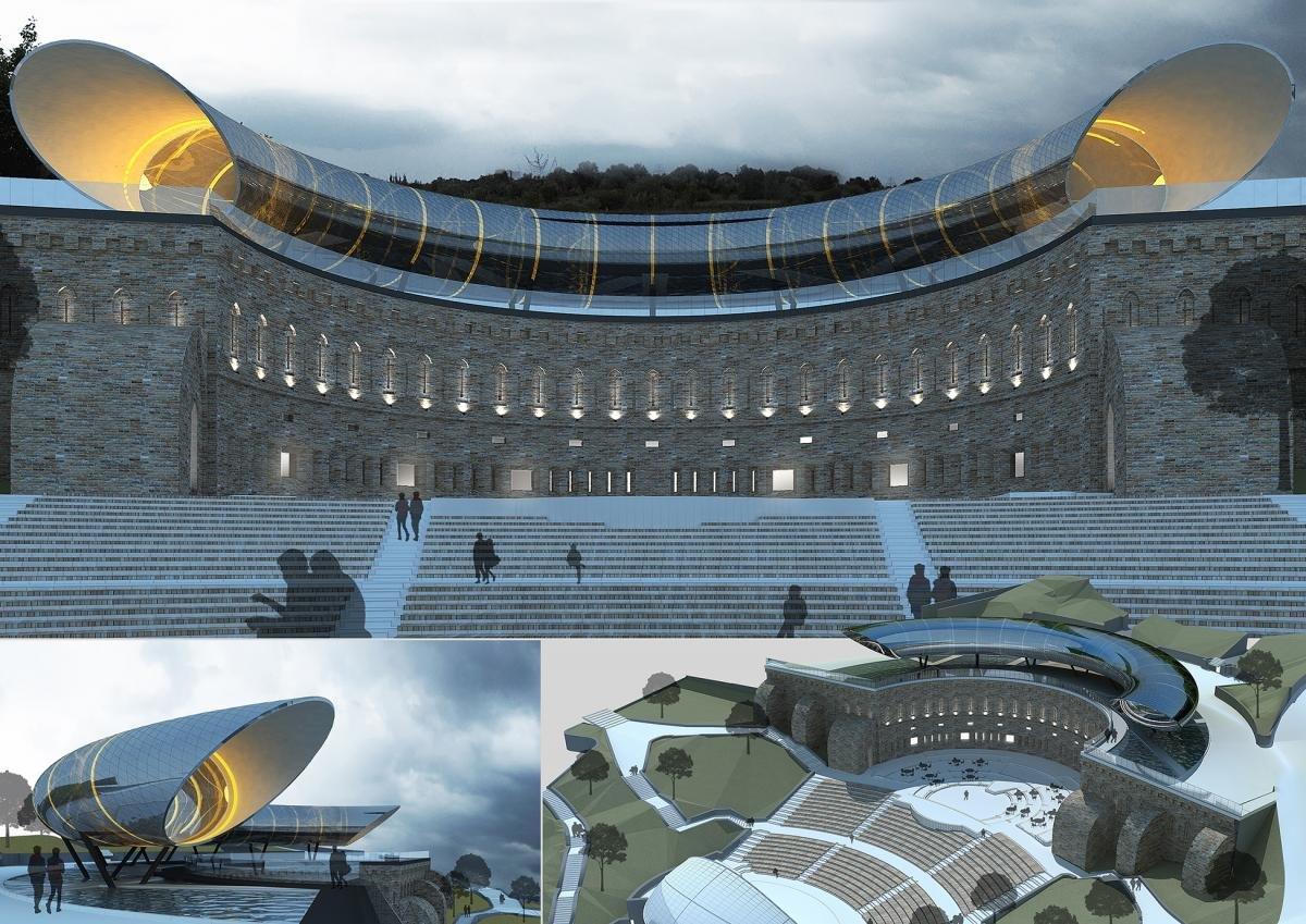 Зеленый театр в Киеве: строительство, запустение и мистические легенды вокруг него, - ФОТО, Фото: Униан