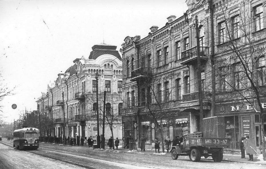 Улица с одним деревом в Киеве: как строилась и развивалась ул. Сагайдачного, - ФОТО, Фото: Хмарочос Pastvu