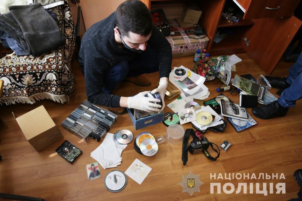 В Киеве поймали педофила, а в области пресекли распространение детской порнографии, Фото: Национальная полиция