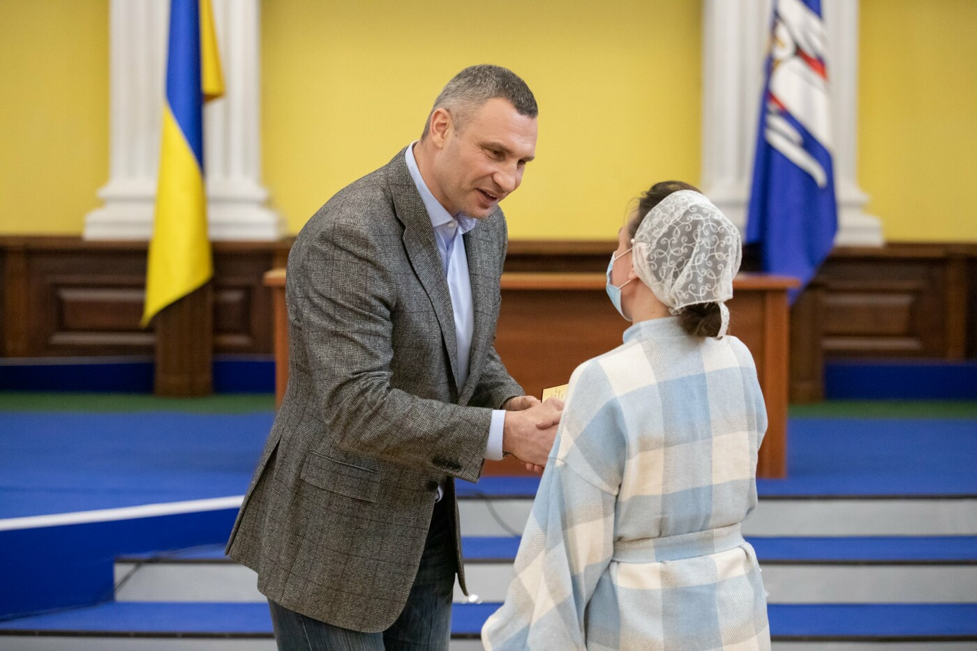 Виталий Кличко вручил выдающимся киевлянам государственные награды, фото-1