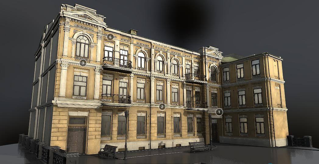 В Киеве появился 3D-музей Игоря Сикорского. Его создал инженер по добыче нефти и газа, фото-2, Фото: 3D