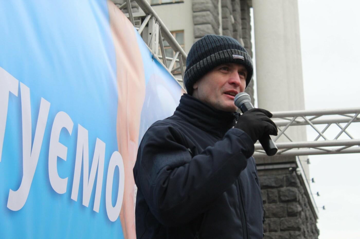 Нас обманули: киевляне снова вышли на акцию в защиту Гостиного двора, - ФОТО, фото-7