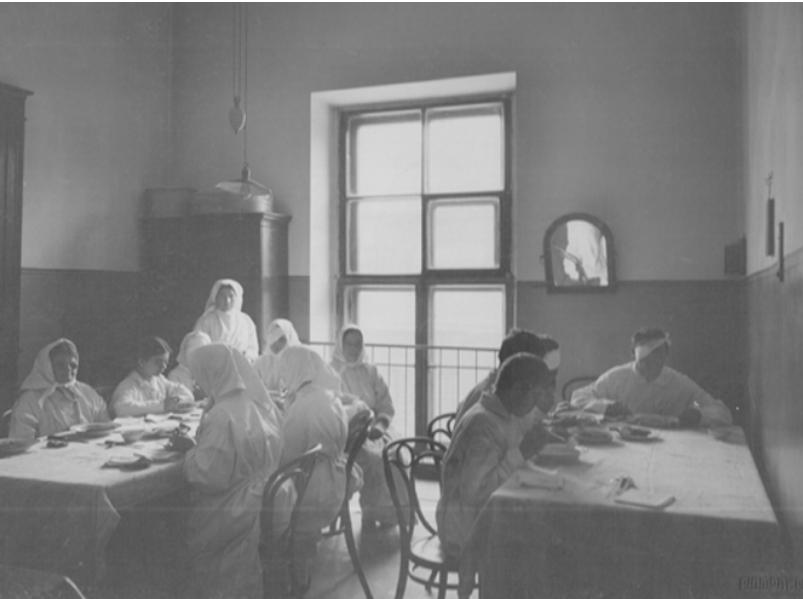 Больничные палаты 1912