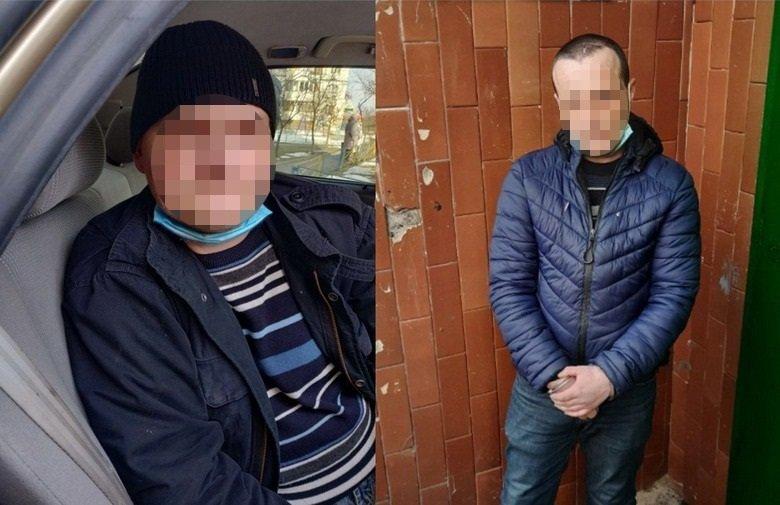 Двух мужчин задержали, Фото: отдел коммуникации столичной полиции