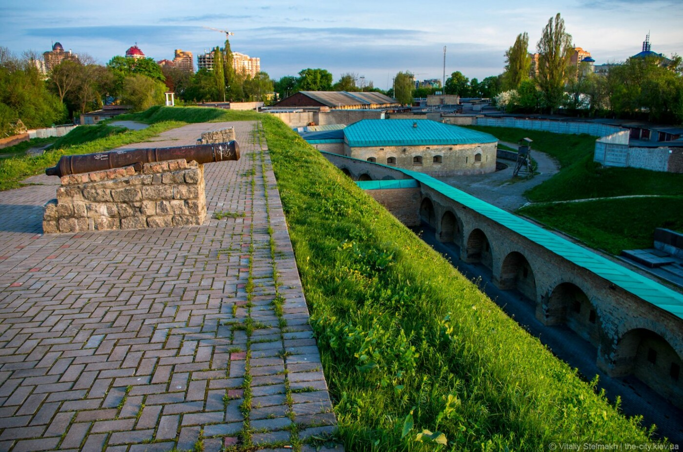 Косой капонир, сегодня, Фото: Фото: Виталий Стельмах