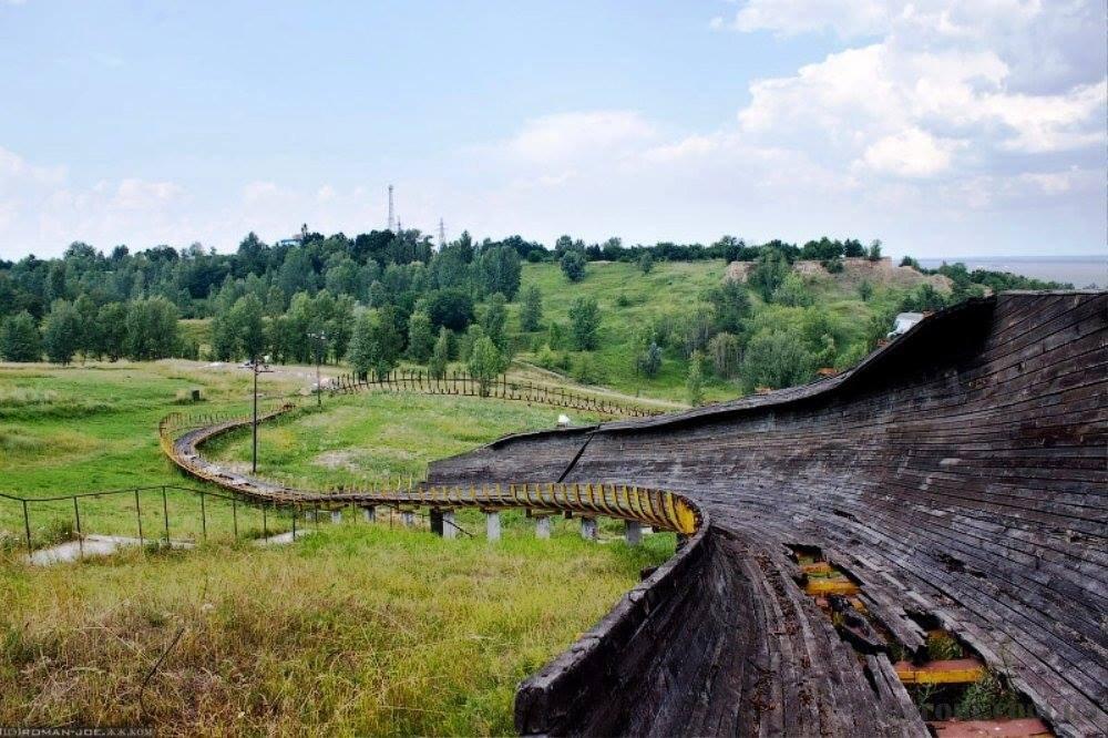 Вышгородский бобслейный трек под Киевом и его состояние, - ФОТО, Фото: Tribuna