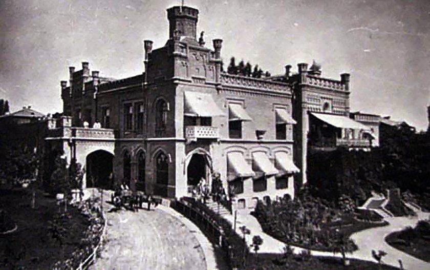 Замок барона Штейнгеля в Киеве, с которым часто путают другой замок, - ФОТО, Фото: Facebook