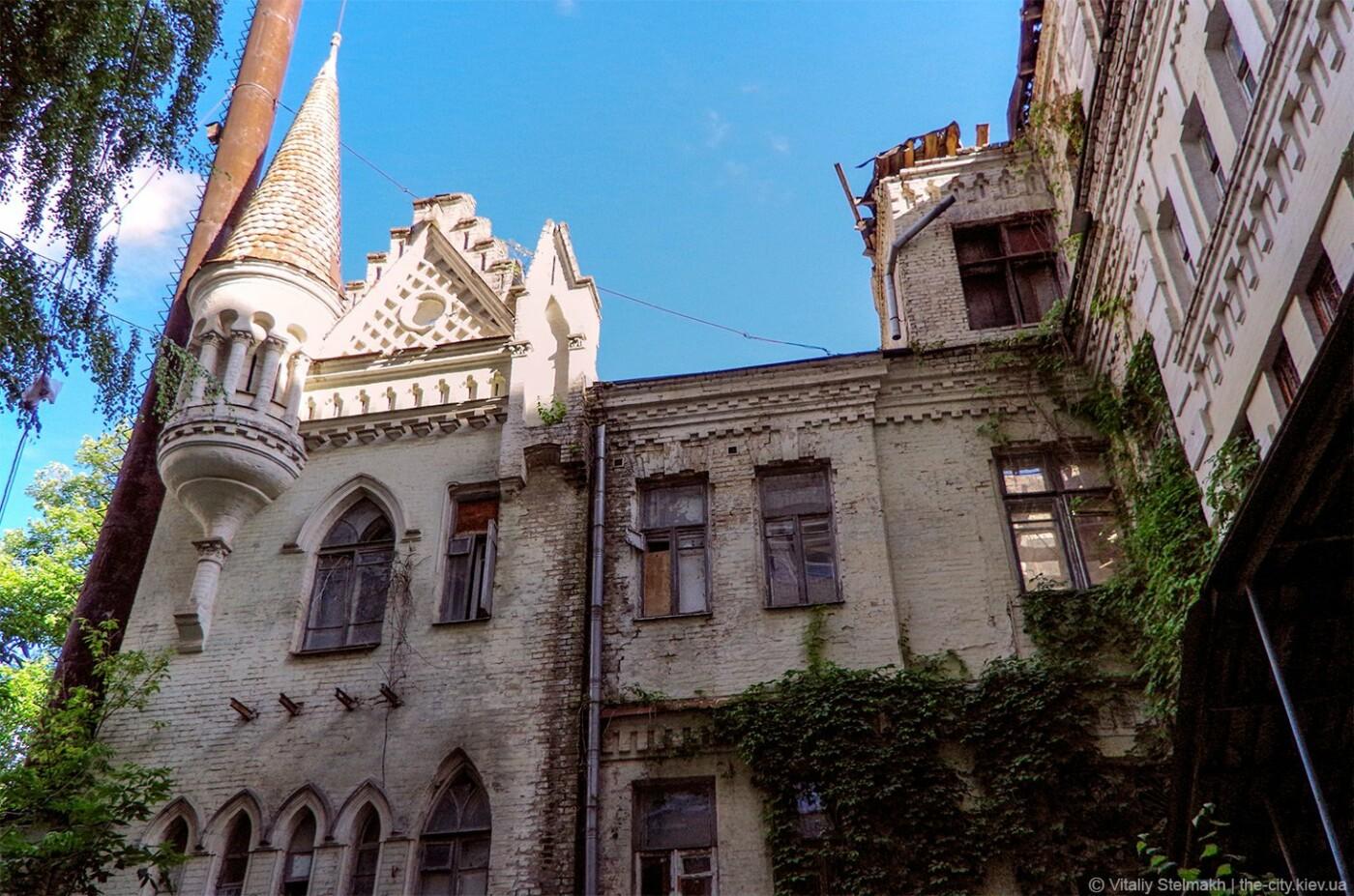 Замок барона Штейнгеля в Киеве, с которым часто путают другой замок, - ФОТО, Фото: The City Kiev
