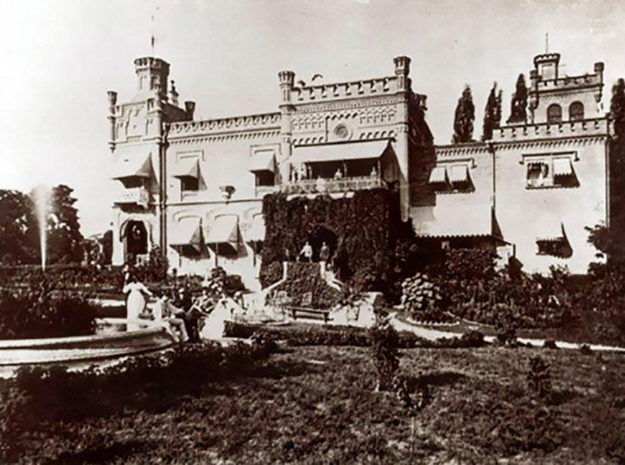 Замок барона Штейнгеля в Киеве, с которым часто путают другой замок, - ФОТО, Фото: Википедия
