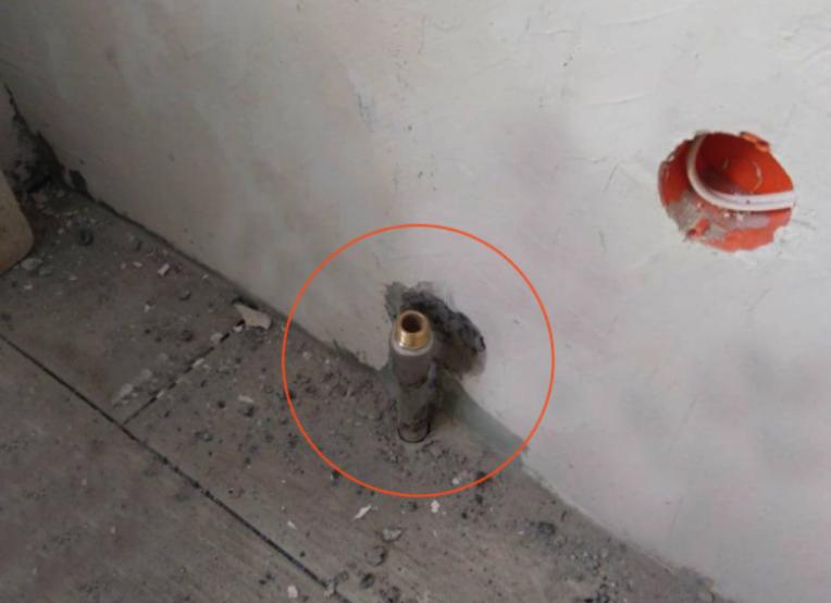 """Обрезана труба, Фото: пресс-служба """"Киевгаз"""""""