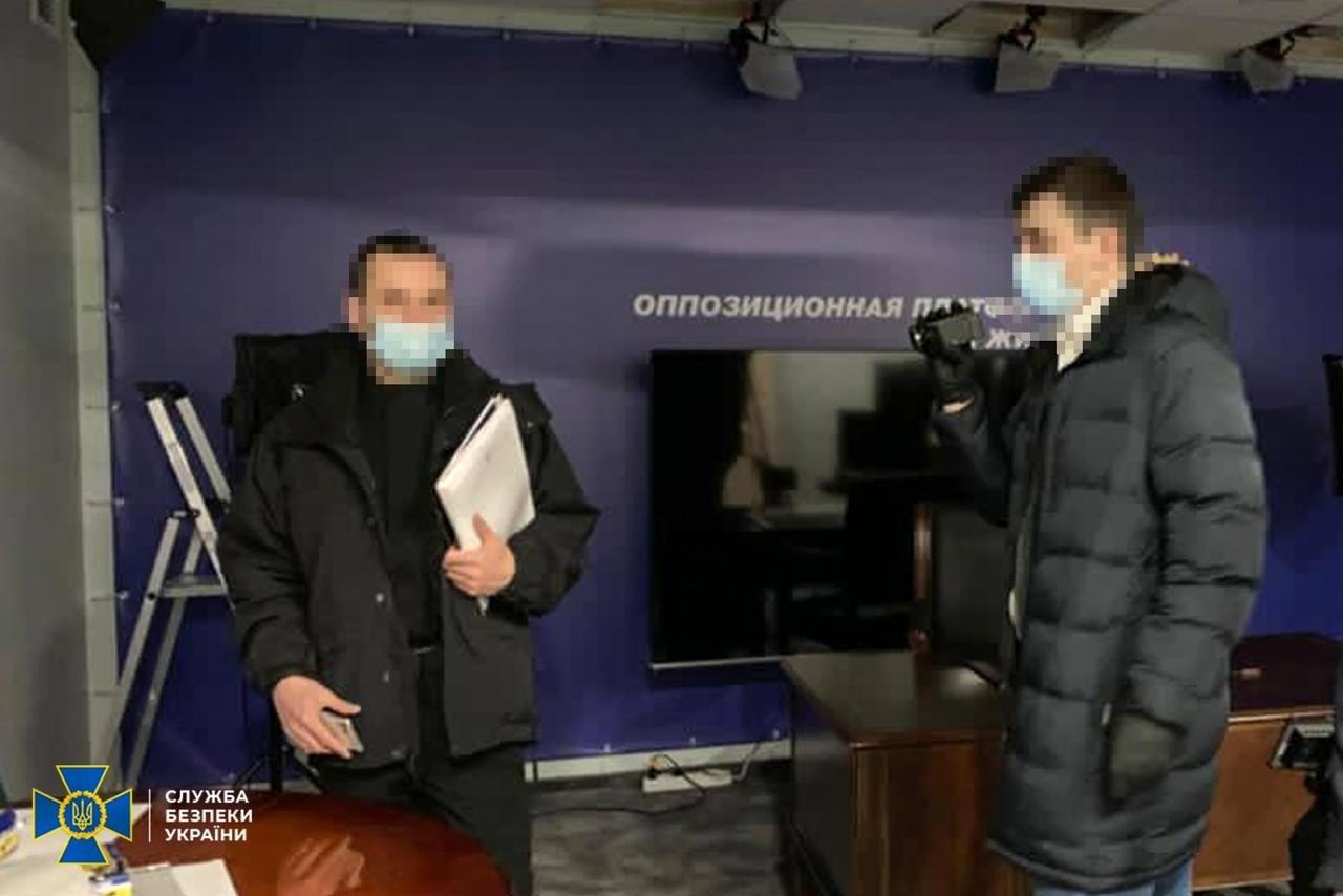 Обыски в офисе, Фото: СБУ