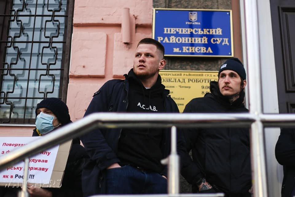 """Сергей Филимонов, лидер движения """"Гонор"""""""