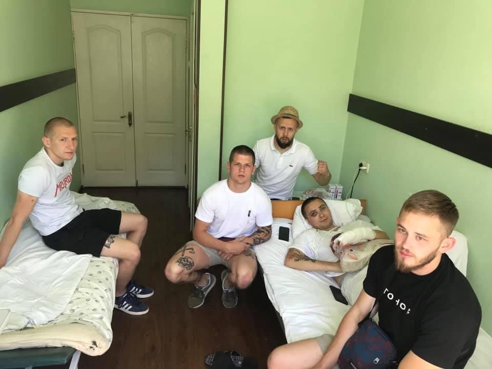 Сергей Стернекно после второго нападения