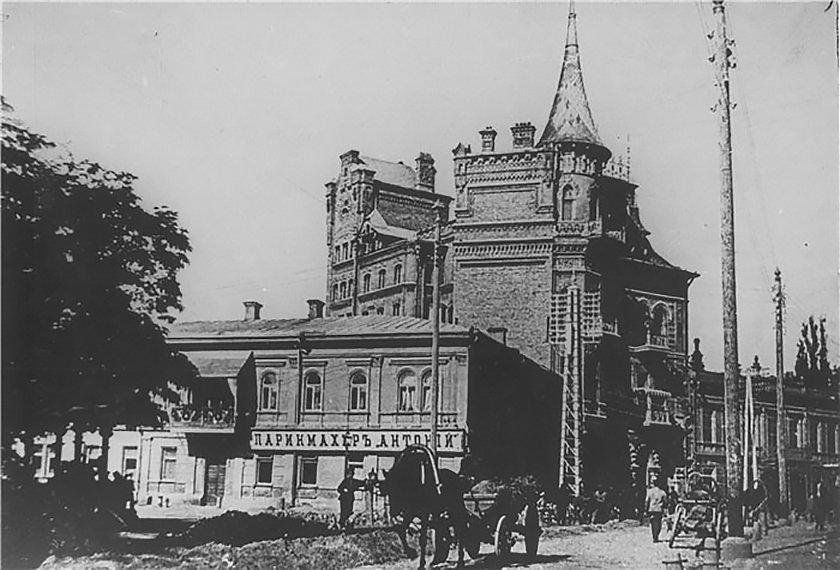 Дом Подгорского в Киеве, или Замок барона на Ярославом Валу, - ФОТО, Фото: photohistory.kiev.ua