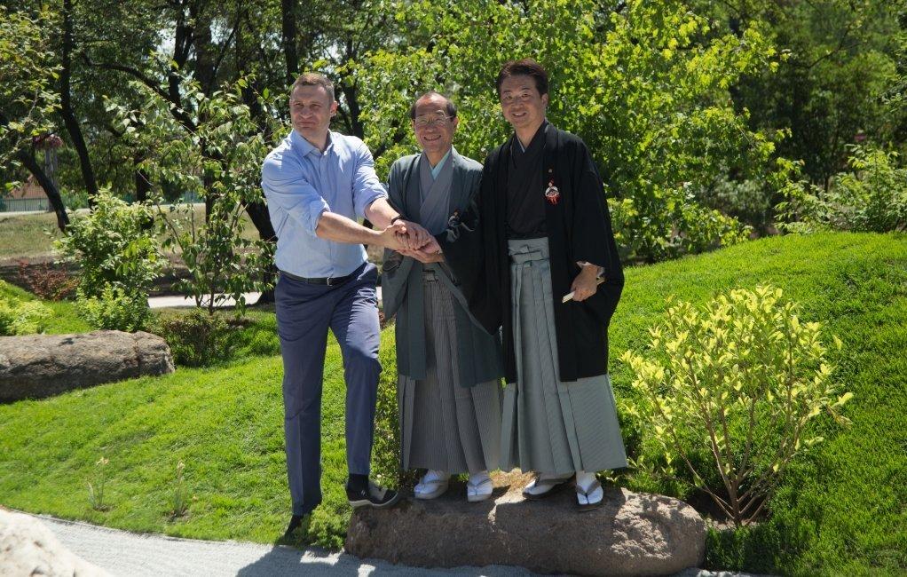 Цветущие сады японских сакур: парк «Киото» в Киеве и его уникальность, - ФОТО, Фото: Наш Киев