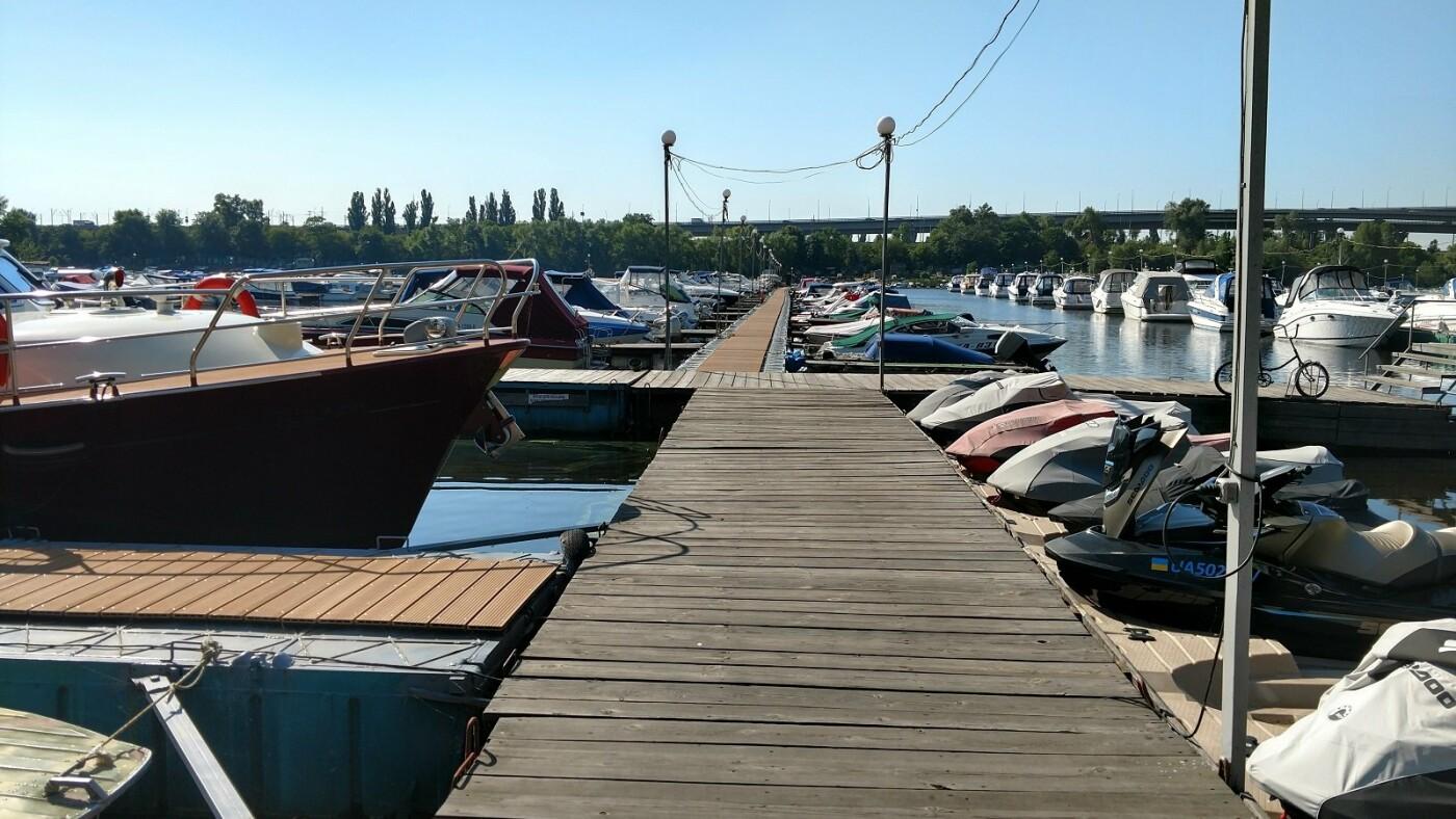 Катера и крики чаек: ТОП-3 яхт-клуба Киева, - ФОТО, Фото: Dmytro