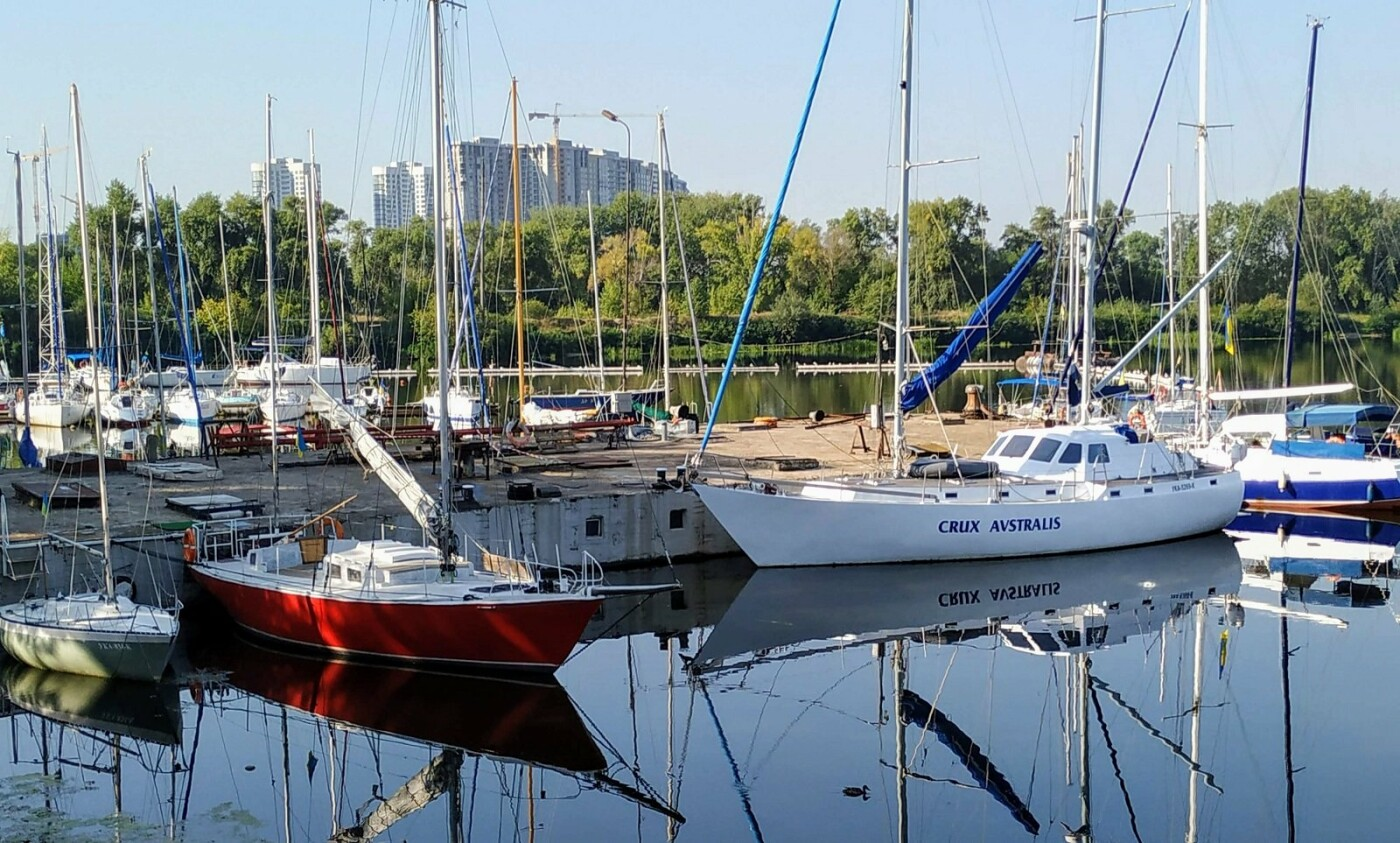 Катера и крики чаек: ТОП-3 яхт-клуба Киева, - ФОТО, Фото: Инна Гриценко