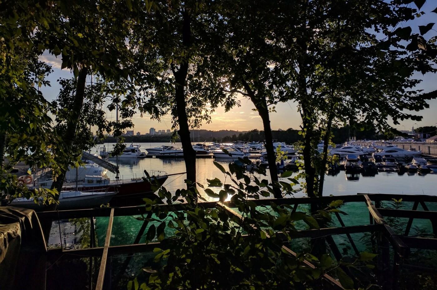 Катера и крики чаек: ТОП-3 яхт-клуба Киева, - ФОТО, Фото: Оксана Шамрай