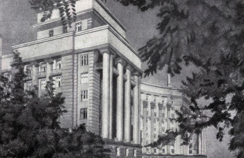 Монументализм и НКВД: здание Кабинета Министров Украины в Киеве и его уникальность, - ФОТО, Фото: retroua