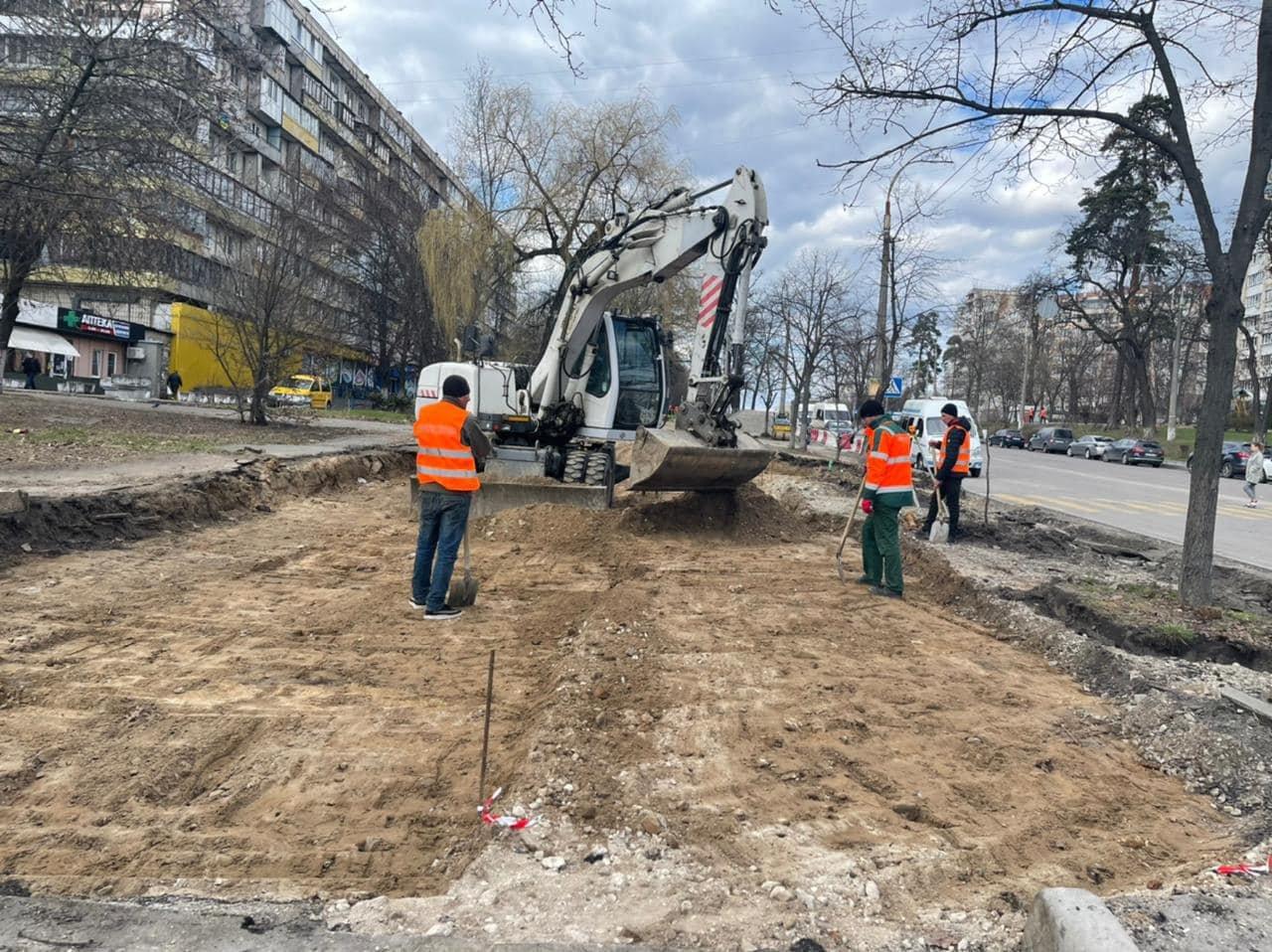 Мэр Киева рассказал, на каких улицах столицы производится ремонт дорог, Фото: Киевавтодор
