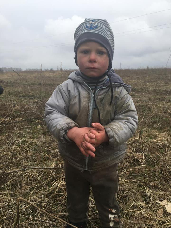 В Киевской области разыскали пропавшего двухлетнего мальчика, Фото Андрея Небитова