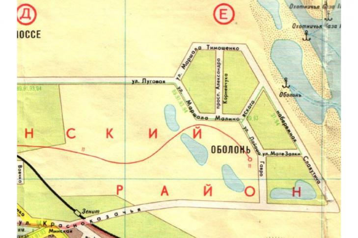 Киевлянин предлагает дать новое название проспекту Героев Сталинграда., Фото из электронной петиции.
