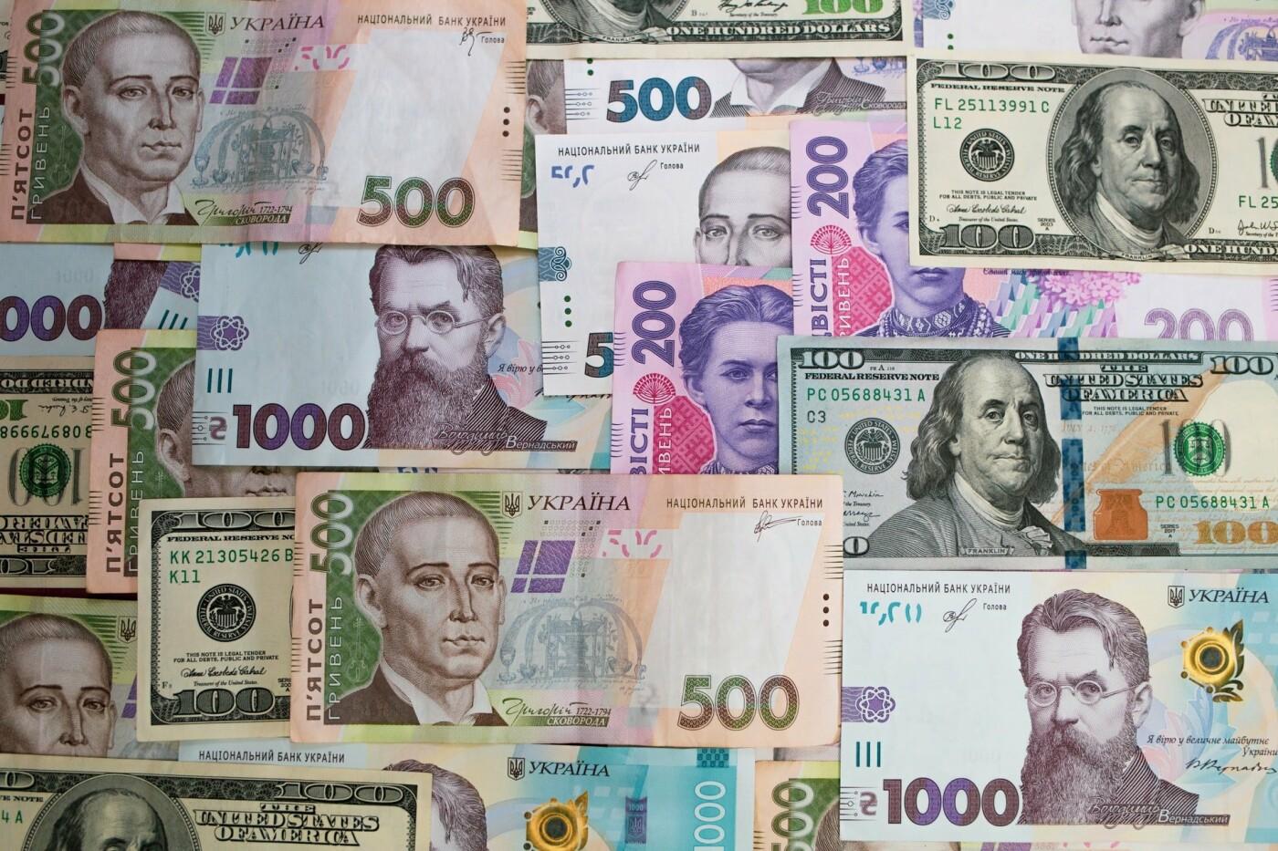 Гривны и доллары. Условное фото, Фото: Roman Synkevych