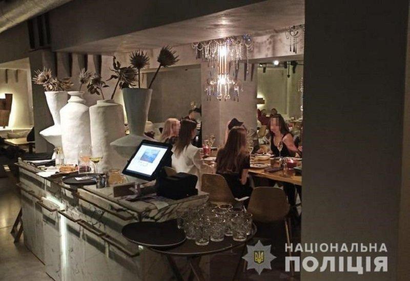 Никаких вечеринок: полиция Киева проверяет развлекательные заведения и ищет нарушителей