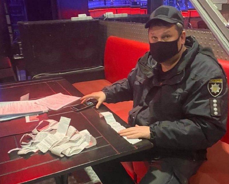 Никаких вечеринок: полиция Киева проверяет развлекательные заведения и ищет нарушителей, Фото: Национальная полиция
