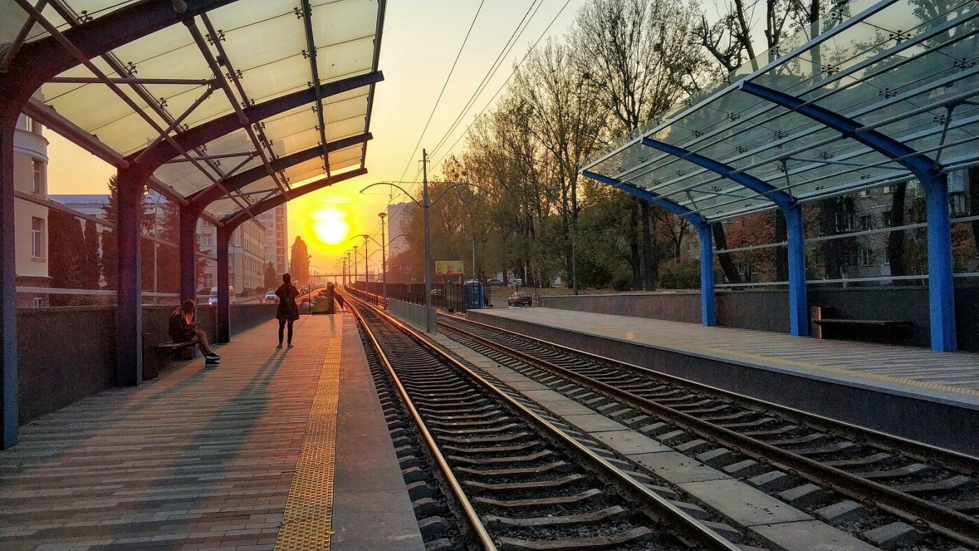 "Станция ""НАУ"", Фото: Oleksandr Kovinia"