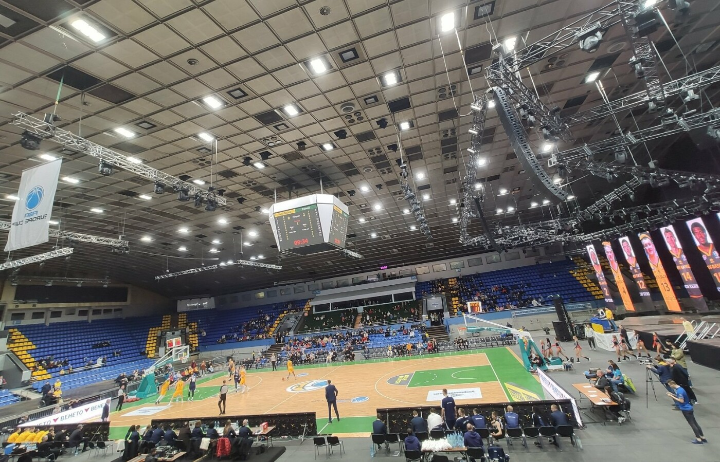 Арена Киевского дворца спорта, Фото: Kyrylo Toporikov