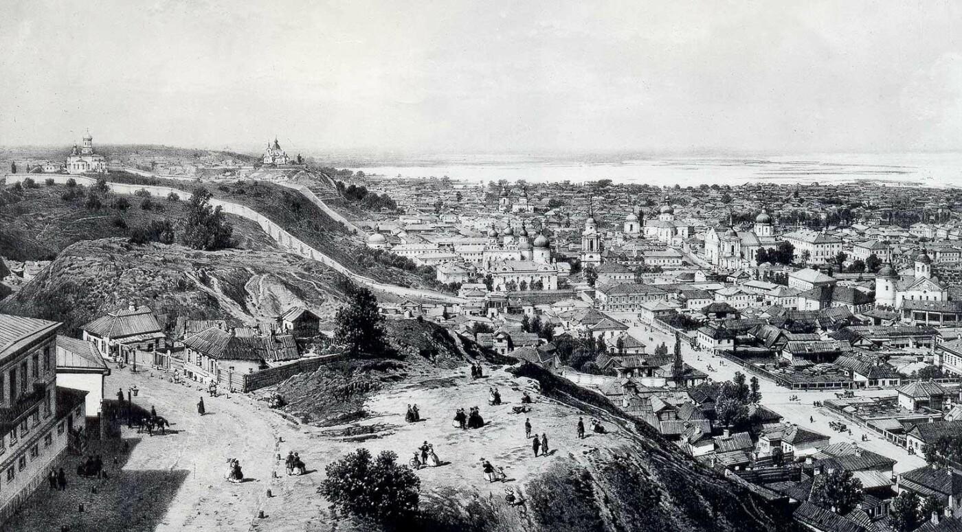 Вид на Подол в XIX веке, Фото: Википедия