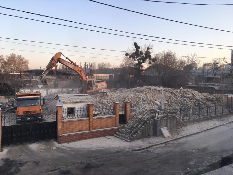 Фабрика Шульца, вместо которой хотят построят мечеть., Фото Дмитрия Петрова