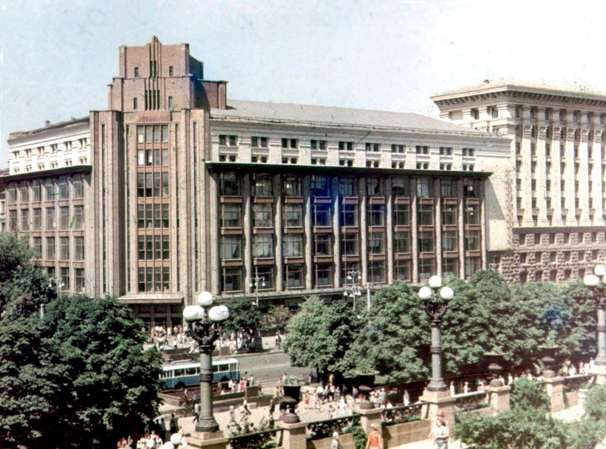 достроенный ЦУМ в советские времена, Фото: Википедия