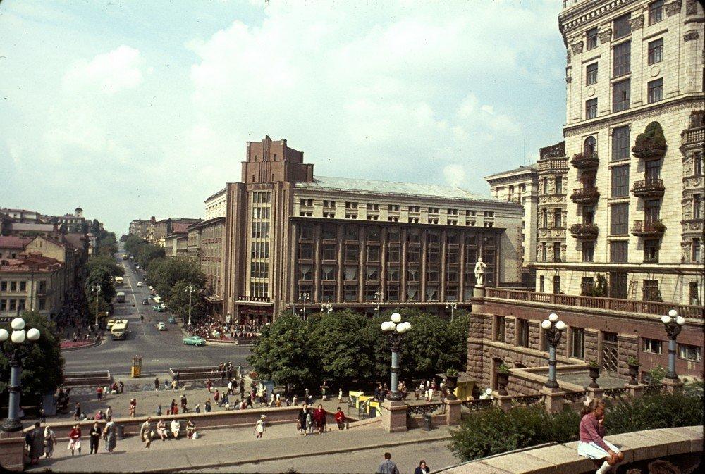 достроенный ЦУМ в советские времена, Фото: fun livejournal