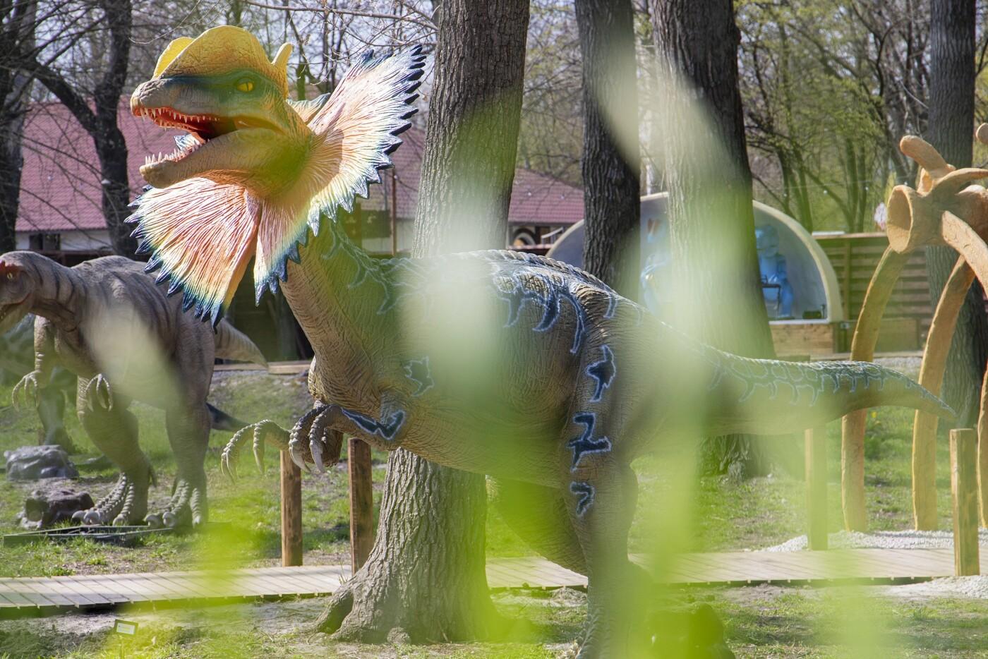 """В Киеве появится огромный парк с """"живыми"""" динозаврами Юрского периода., Фото КГГА"""
