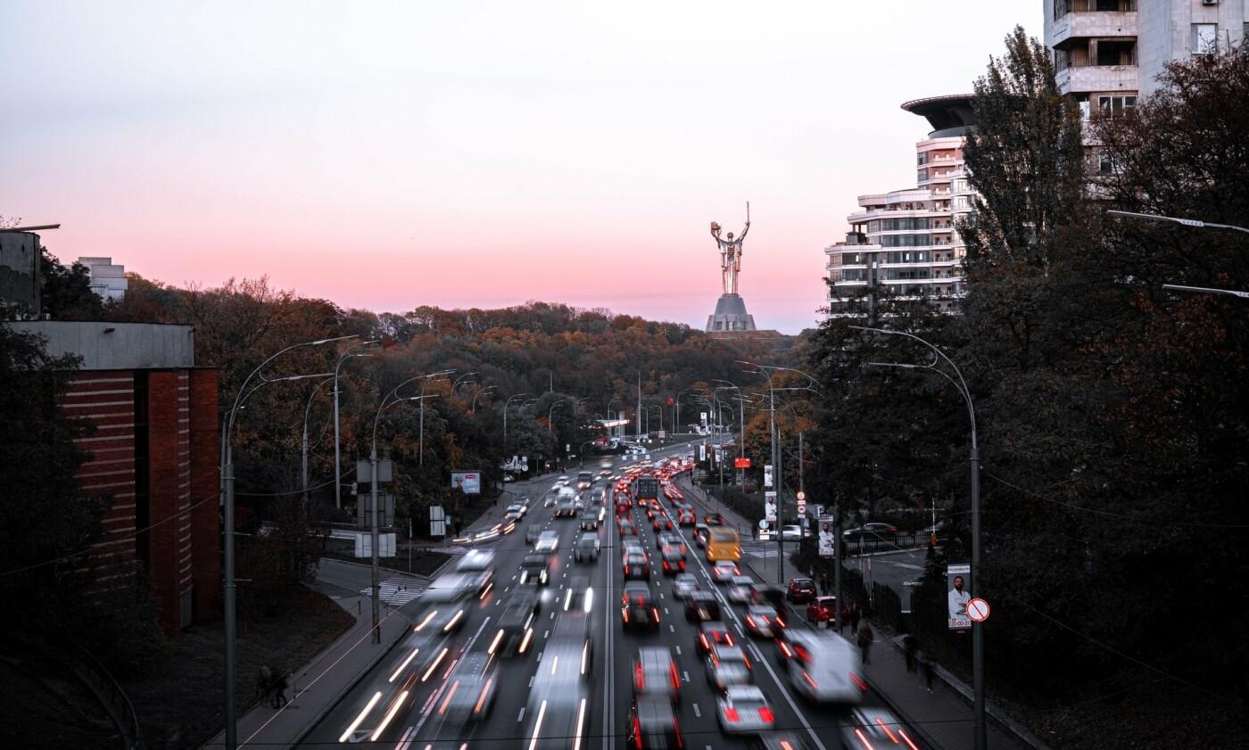 Пробки Киев онлайн: текущая ситуация с движением в городе, - КАРТА, Фото: Oleksandr Zhabin