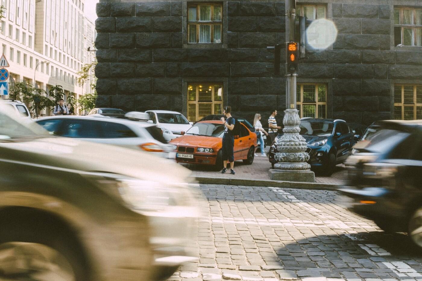 Пробки Киев онлайн: текущая ситуация с движением в городе, - КАРТА, Фото: Yanny Mishchuk