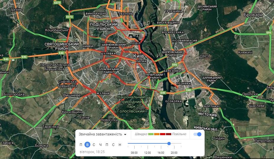 Пробки Киев онлайн: текущая ситуация с движением в городе, - КАРТА, фото-5
