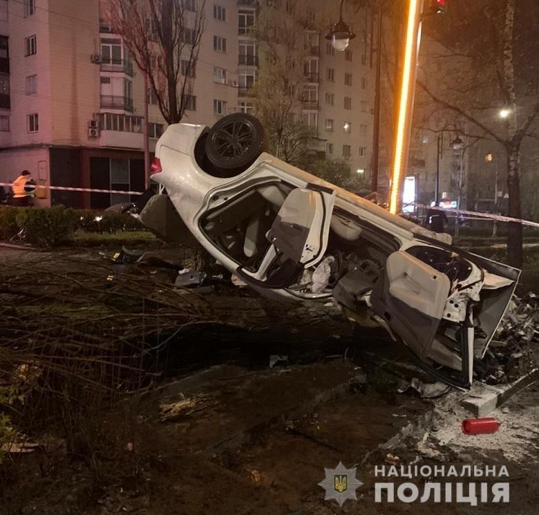 Смертельное ДТП в центре Киева: виновник взят под стражу., Фото полиции