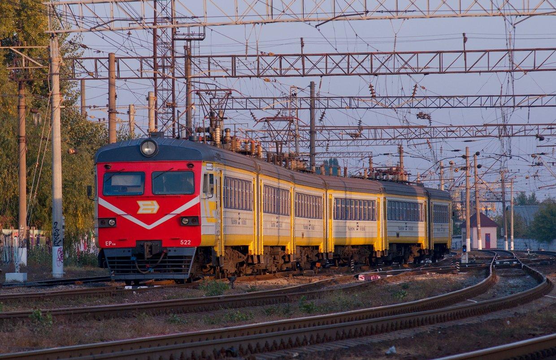 Городская электричка Киев, Фото: Википедия